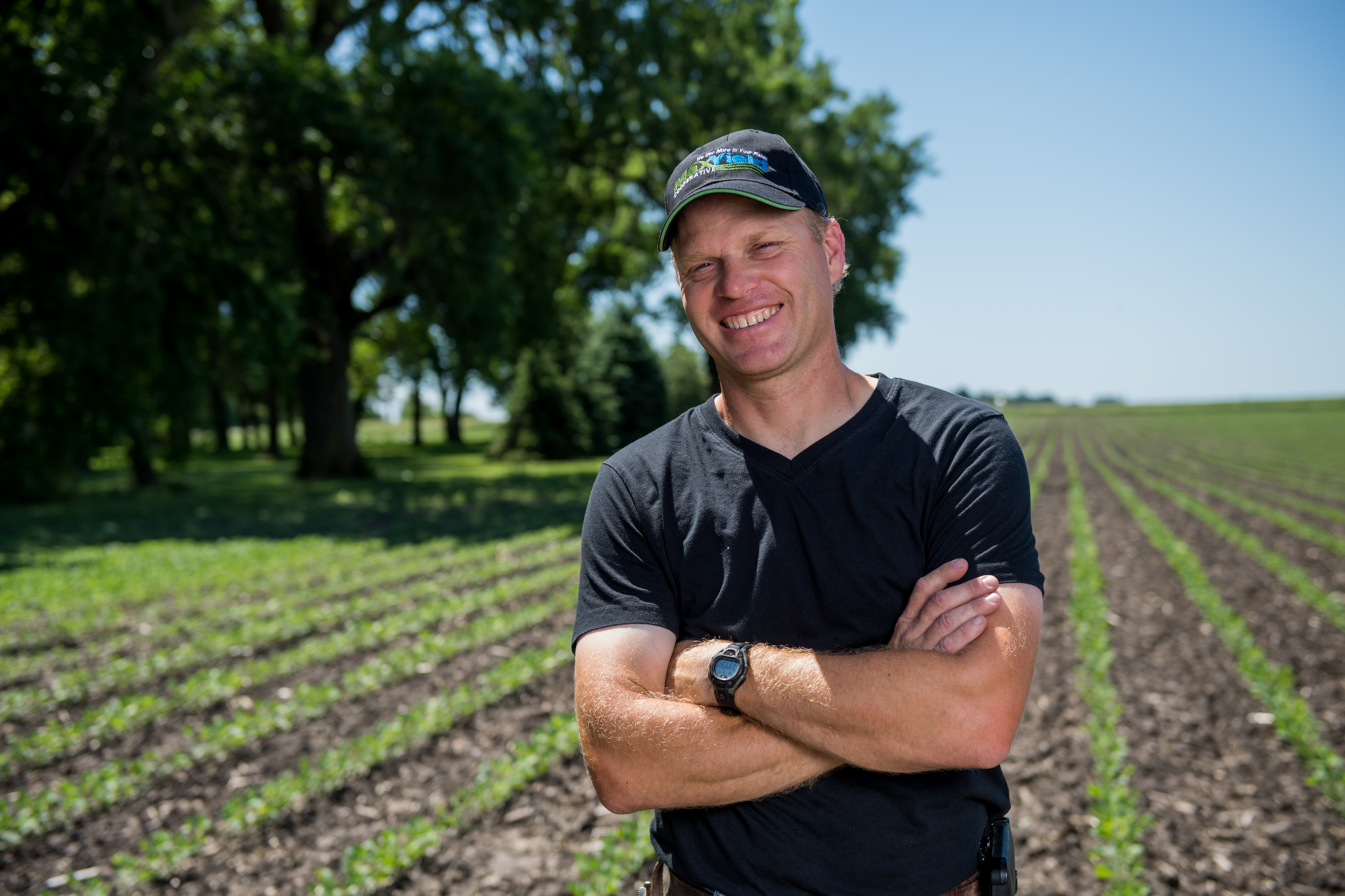 Eric Marchand protecting crop profits with precision ag