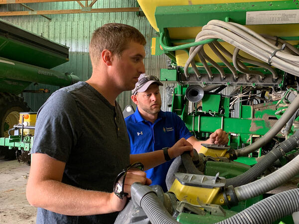 precision ag as a service using an advisor