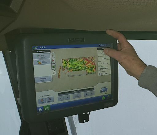 yield monitor and data