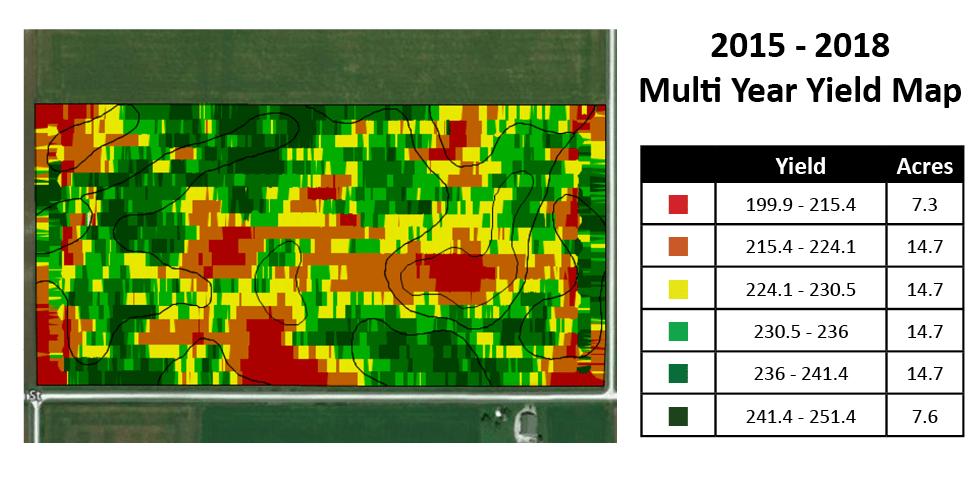 multi year yield map