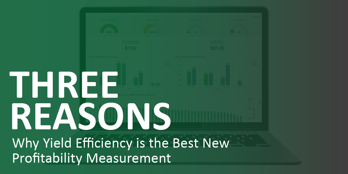 3 Reasons Why Yield Efficiency is the Best New Profitability Measurement