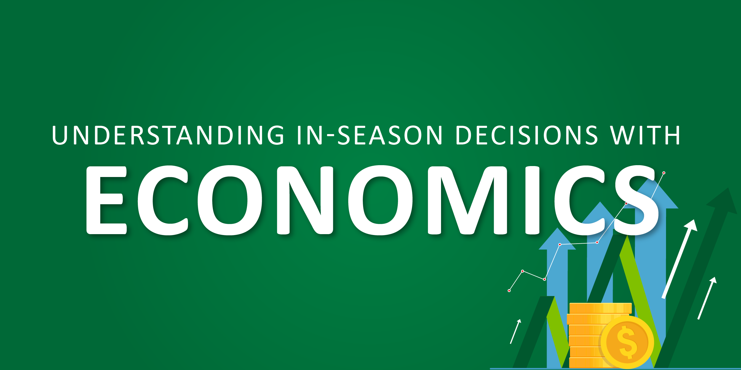 Understanding In-Season Decisions with Economics